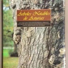 Libros de segunda mano: ÁRBOLES NOTABLES DE ASTURIAS. FRANCISCO VALLE POO. NOBEL ED. 1999. 30 CM. A COLOR. RAREZA!! . Lote 155645998