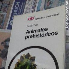 Libros de segunda mano: ANIMALES PREHISTORICOS.BARRY COX. Lote 130505256