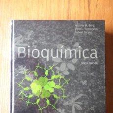 Libros de segunda mano de Ciencias: LIBRO QUIMICA BIOQUIMICA EDITORIAL REVERTE. Lote 129687251