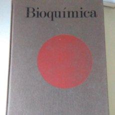 Libros de segunda mano de Ciencias: BIOQUIMICA , LAS BASES MOLECULARES DE LA ESTRUCTURA Y FUNCION CELULAR .LEHNINGER ( OMEGA ). Lote 130775236