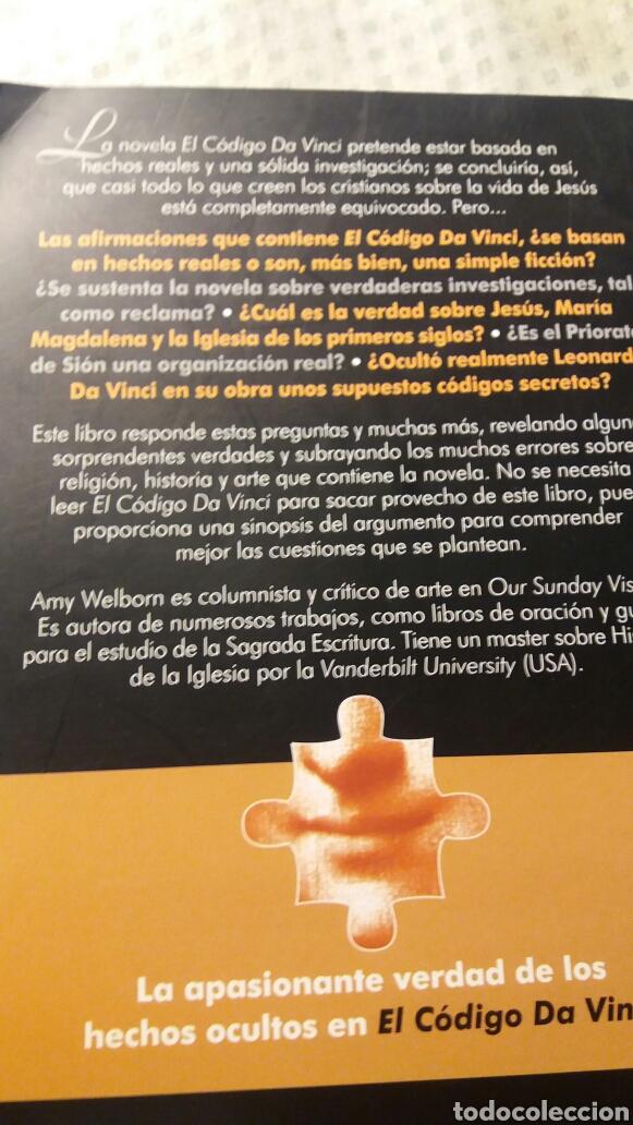 Libros de segunda mano de Ciencias: DESCODIFICANDO A DA VINCI DE AMY WELBORN - Foto 2 - 130934412