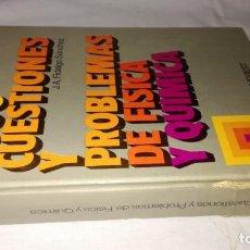 Libros de segunda mano de Ciencias: 2000 CUESTIONES Y PROBLEMAS DE FISICA Y QUIMICA-J A FIDALGO SANCHEZ -EVEREST-CJ145FISICA QUIMICA. Lote 131031264