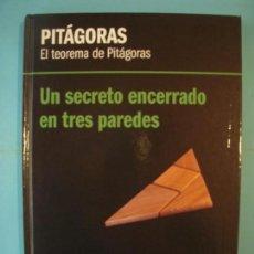 Libros de segunda mano de Ciencias: PITAGORAS - EL TEOREMA DE PITAGORAS - RBA, 2012, 1ª EDICION (TAPA DURA, COMO NUEVO). Lote 131051140