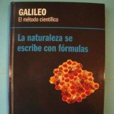 Libros de segunda mano de Ciencias: GALILEO - EL METODO CIENTIFICO - RBA, 2012, 1ª EDICION (TAPA DURA, COMO NUEVO). Lote 131059860