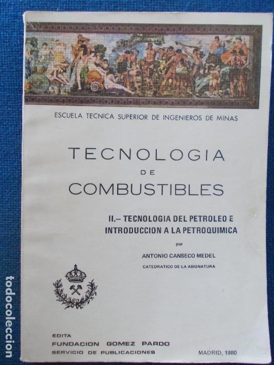 TECNOLOGIA DE COMBUSTIBLES (Libros de Segunda Mano - Ciencias, Manuales y Oficios - Física, Química y Matemáticas)