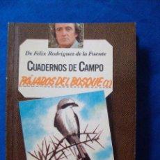 Livres d'occasion: CUADERNOS DE CAMPO Nº 8 PAJAROS DEL BOSQUE 1 FELIX RODRIGUEZ DE LA FUENTE EDITORIAL MARIN. Lote 131189028