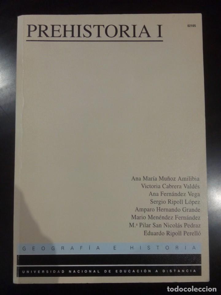 PREHISTORIA I -UNED 1996- (Libros de Segunda Mano - Ciencias, Manuales y Oficios - Paleontología y Geología)