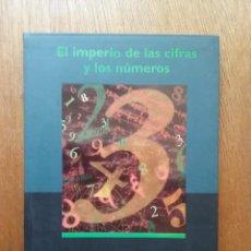 Libros de segunda mano de Ciencias: EL IMPERIO DE LAS CIFRAS Y LOS NUMEROS, DENIS GUEDJ, BIBLIOTECA DE BOLSILLO CLAVES EDICIONES B, 1998. Lote 131458182