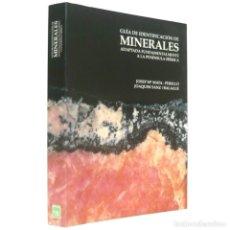 Libros de segunda mano: 1993 - MINERALES DE LA PENÍNSULA IBÉRICA - GUÍA DE IDENTIFICACIÓN - ILUSTRADO, LÁMINAS - MINERALOGÍA. Lote 131992610