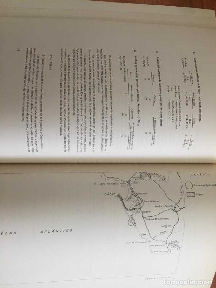 Libros de segunda mano: Mapa de rocas industriales. Cádiz. Instituto geológico y minero de España. Escala 1: 200000 - Foto 4 - 132136301