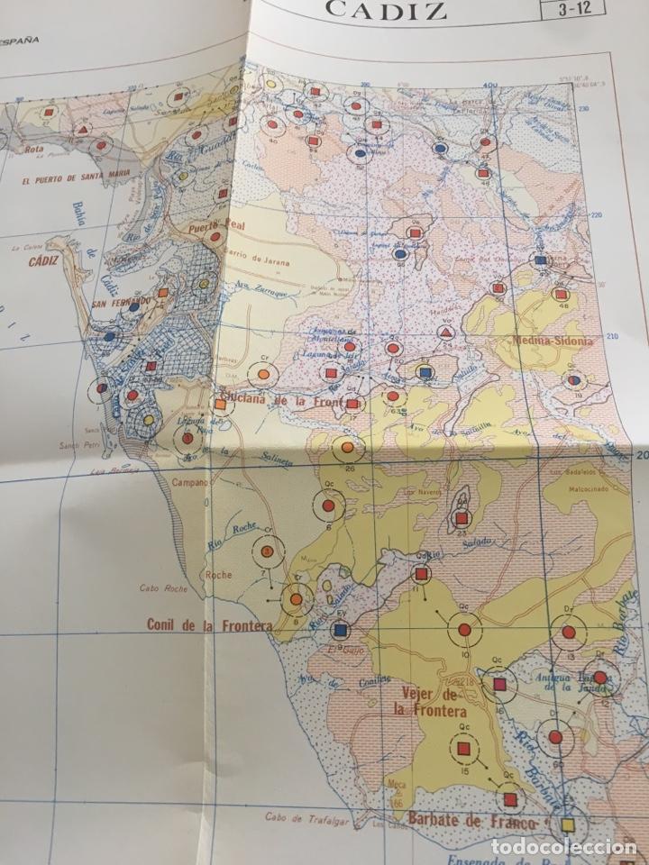 Libros de segunda mano: Mapa de rocas industriales. Cádiz. Instituto geológico y minero de España. Escala 1: 200000 - Foto 6 - 132136301