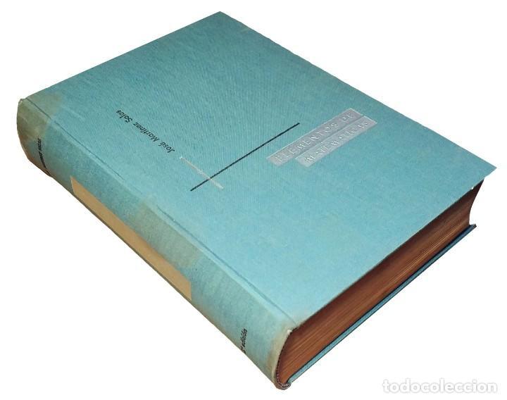 ELEMENTOS DE MATEMÁTICAS / POR JOSÉ MARTÍNEZ SALAS. VALLADOLID, 1966 (GRÁF. ANDRÉS MARTÍN). (Libros de Segunda Mano - Ciencias, Manuales y Oficios - Física, Química y Matemáticas)