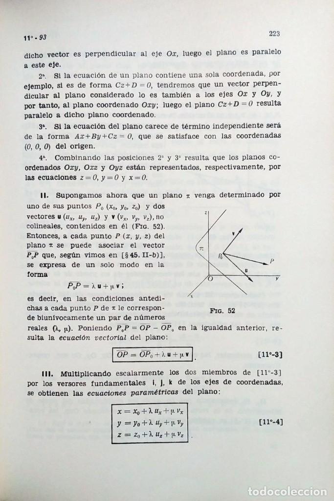 Libros de segunda mano de Ciencias: ELEMENTOS DE MATEMÁTICAS / POR JOSÉ MARTÍNEZ SALAS. VALLADOLID, 1966 (GRÁF. ANDRÉS MARTÍN). - Foto 3 - 132171138