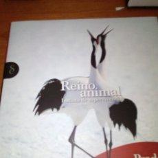 Libros de segunda mano: REINO ANIMAL INSTINTO DE SUPERVIVENCIA. PRADERAS Y ESTEPAS. BBB. Lote 132282310