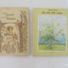 Libros de segunda mano: EL SECRET DE LES HERBES Y LA CRIDA DELS ARBRES - EDITORIAL ELFOS. Lote 132575190