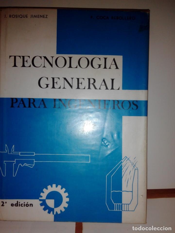 Libros de segunda mano de Ciencias: TECNOLOGIA GENERAL PARA INGENIEROS - Foto 6 - 132682342