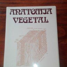 Libros de segunda mano: ANATOMÍA VEGETAL . A.FAHN. H.BLUME EDICIONES.. Lote 132768122