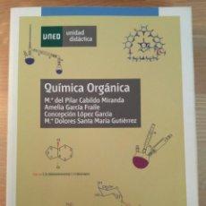 Libros de segunda mano de Ciencias: QUÍMICA ORGÁNICA UNED 2.ª ED. 2011. UNIDAD DIDÁCTICA 0109308UD11A02. Lote 133080862