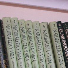 Libros de segunda mano: NATURALEZA Y VIDA. NATIONAL GEOGRAPGIC. 7 TOMOS. COMPLETA.. Lote 133084335