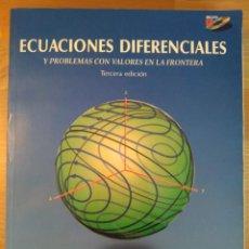 Libros de segunda mano de Ciencias: ?ECUACIONES DIFERENCIALES Y PROBLEMAS CON VALORES EN LA FRONTERA 3.ª ED. KENT NAGLE ET. AL. PEARSON. Lote 133140890