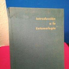Libros de segunda mano: INTRODUCCIÓN A LA ENTOMOLOGÍA - HERBERT ROSS - OMEGA, 1968. Lote 133195687