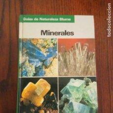 Libros de segunda mano: MINERALES. OLAF MEDENBACH. CORNELIA SUSSIECK. GUÍAS DE NATURALEZA BLUME. Lote 133345870