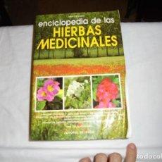 Livres d'occasion: ENCICLOPEDIA DE LAS HIERBAS MEDICINALES.TINA CECCHINI.EDITORIAL DE VECCHI.BARCELONA 1992. Lote 133347870