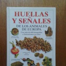 Libros de segunda mano: HUELLAS Y SEÑALES DE LOS ANIMALES DE EUROPA, PREBEN BANG, DAHLSTROM, EDICIONES OMEGA, 1997. Lote 133425686