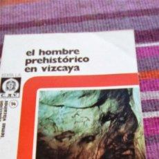 Libros de segunda mano: EL HOMBRE PREHISTÓRICO EN VIZCAYA JUAN MARÍA APELLANIZ ILUSTRADO TEMAS VIZCAÍNOS. Lote 133538882