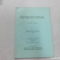Libros de segunda mano: ROCAS DE ESPANA CENTRAL, IV: PORFIDOS Y LAMPROFIDOS MAGMATICOS DE LA GRANJA (SEGOVIA). Lote 133651082