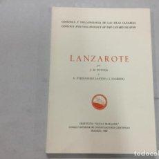 Libros de segunda mano: VOLCANOLOGÍA DE CANARIAS,LANZAROTE,GRAN CANARIA,1968,ORIGINAL,FUSTER. Lote 133651718