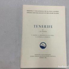 Libros de segunda mano: TENERIFE-GEOLOGIA Y VOLCANOLOGIA DE LAS ISLAS CANARIAS- J.M. FUSTER-1968-. Lote 133651814