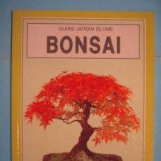 Libros de segunda mano: BONSAI - ANNE SWINTON - GUIAS JARDIN BLUME - EIDTORIAL BLUME, 1998 (COMO NUEVO). Lote 133661754