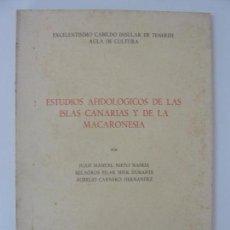Libros de segunda mano: ESTUDIOS AFIDOLÓGICOS DE LAS ISLAS CANARIAS Y DE LA MACARONESIA. SALAMANCA 1977. Lote 133818806