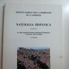 Libros de segunda mano: NATURALIA HISPÁNICA. Nº 15. TIMANFAYA. LANZAROTE 1978. KUNKEL. Lote 133819974