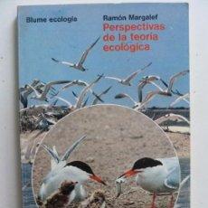 Libros de segunda mano: PERSPECTIVAS DE LA TEORÍA ECOLÓGICA. MARGALEF. Lote 133824786