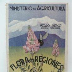 Libros de segunda mano: FLORA Y REGIONES MELÍFERAS DE ESPAÑA. PEDRO HERCE.. Lote 134013314