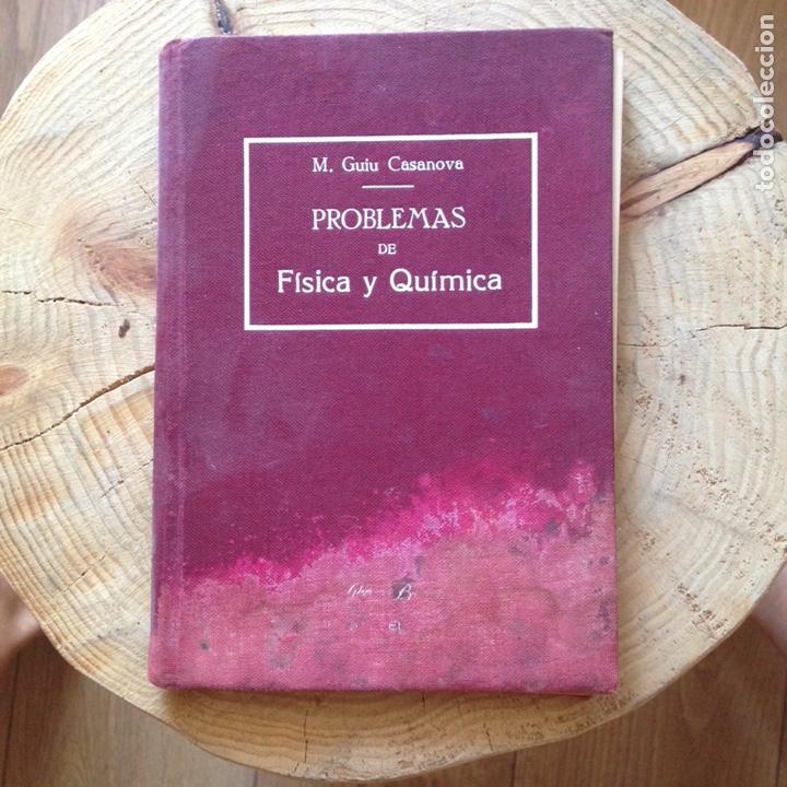 Libros de segunda mano de Ciencias: Problemas de física y química M. Guiu Casanova - Foto 2 - 134071095