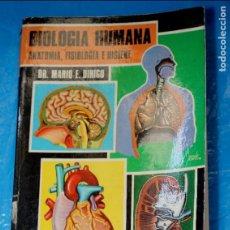Libros de segunda mano: BIOLOGIA HUMANA, ANATOMIA, FISIOLOGIA E HIGIENE, DR. MARIO E. DIHIGO 1974. Lote 134106842