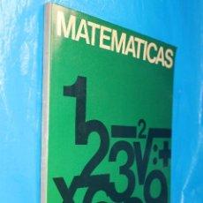 Libros de segunda mano de Ciencias: MATEMATICAS, AFHA1980. Lote 134116302