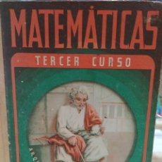 Libros de segunda mano de Ciencias: MATEMATICAS TERCER CURSO. EDITORIAL LUIS VIVES. Lote 134169867