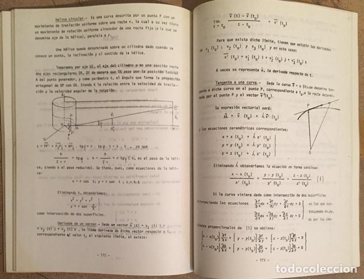 Libros de segunda mano de Ciencias: 1979, MATEMATICAS I (ÁLGEBRA). Luis J. Mateo López. - Foto 5 - 134185130