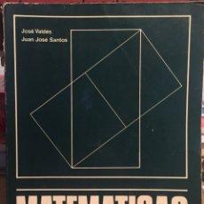 Libros de segunda mano de Ciencias: 1975, MATEMATICAS DE COU.. Lote 134193579