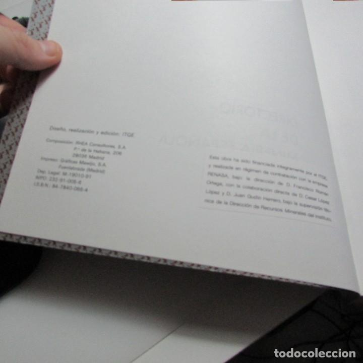Libros de segunda mano: Directorio de la minería española IGME Instituto geológico y minero de España 1990 - Foto 2 - 134302190