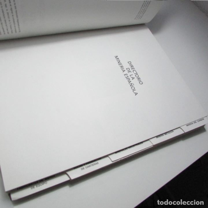 Libros de segunda mano: Directorio de la minería española IGME Instituto geológico y minero de España 1990 - Foto 3 - 134302190