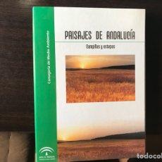 Libros de segunda mano: PAISAJES DE ANDALUCÍA. CAMPIÑAS Y ESTEPAS. Lote 134719879