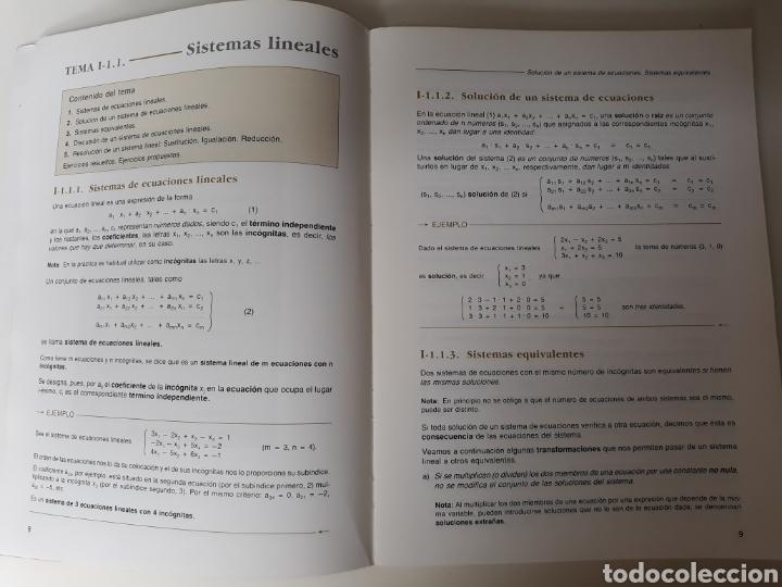 Libros de segunda mano de Ciencias: MATEMATICAS COU. Ed. Edelvives 1988 - Foto 4 - 134741390