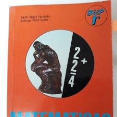 Libros de segunda mano de Ciencias: MATEMÁTICAS 1° BUP ED. ALHAMBRA 1985. Lote 134753257