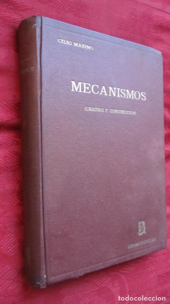 ED. DOSSAT: MECANISMOS,CALCULO Y CONSTRUCCION.CELSO MAXIMO. 640 PG.2ªED.1954.LOMO ALGO DESPEGADO (Libros de Segunda Mano - Ciencias, Manuales y Oficios - Física, Química y Matemáticas)