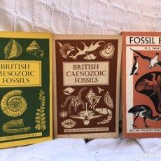 Libros de segunda mano: LIBROS FOSILES BRITISH MUSEUM PRINCIPIOS AÑOS 60. Lote 134844395